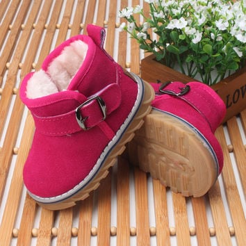 Baby Shoes, Baby girl genuine leather shoes