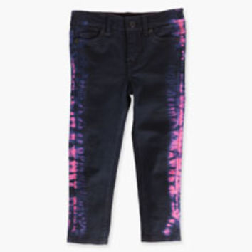 Girls' Levi's Little (4-6x) Tie Dye Blue Leggings - Black & Pink - Kids
