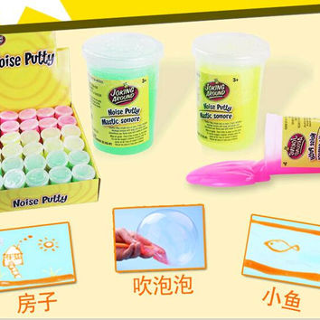 NEW 3kinds of slime 120g barrel O Practical Joke trick Toys fun Slime Large Gag Prank Novelty Toy Cleaning Glue magic slimy