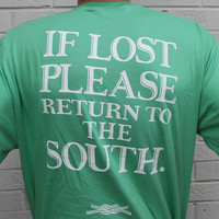 Return to the South Pocket Tee in Green by Knot Clothing & Belt Co.
