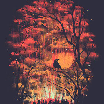 Burning In The Skies Art Print by Robson Borges | Society6