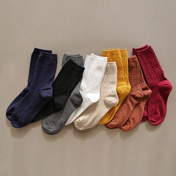 Comfortable yours for life lycra twist women socks