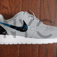 Carolina Panthers Football Nike Roshe Run