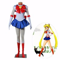 Athemis Anime Sailor Moon Tsukino Usagi Cosplay Party Costume  Custom Made Any Size Dress High Quality