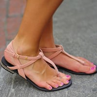 Love To Be Loved Sandal: Light Pink