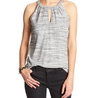 Banana Republic Womens Factory Space Dye Halter Top