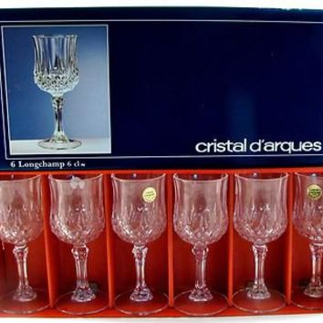 cristal d 39 arques 24 lead crystal from ebay vintage treasures. Black Bedroom Furniture Sets. Home Design Ideas