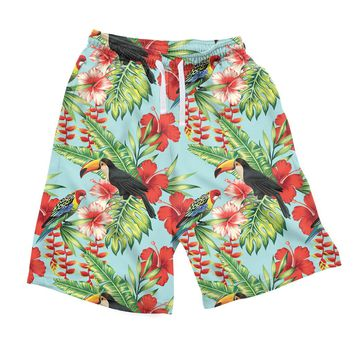 Tropical Bird Men's Shorts
