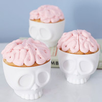 ModCloth Quirky Baking on the Brain Cupcake Molds