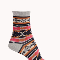 Out West Crew Socks
