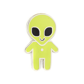 Alien Baby Pin (Glow-in-the-Dark)