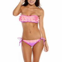 FEATHER SORBET BANDEAU BY DAMSEL