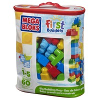 Mega Bloks 60-pc. First Builders Big Building Bag - Red