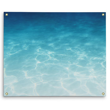 Blue Ombre Waters - Wall Tapestry