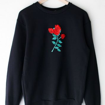 Rose Oversized Sweatshirt