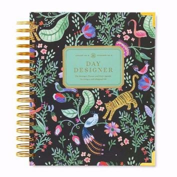 January 2018 Daily Planner: Jungle Out There - Day Designer
