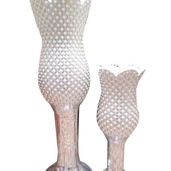 Ceramic tall goblet wedding centerpieces floor vase for marriage decor