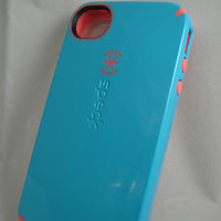 Authentic Speck Blue/Pink for iPhone 4/4s Candyshell Cover Case CottonDandy Blue