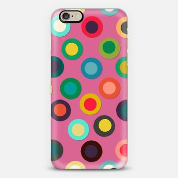pink pop spot iPhone 6 case by Sharon Turner | Casetify