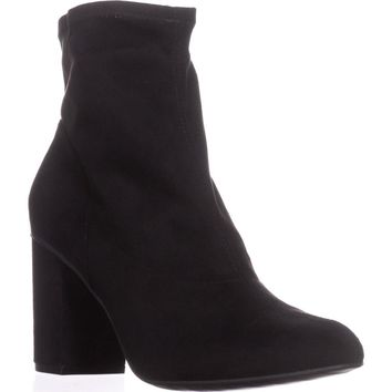 Kenneth Cole REACTION Time for Fun Ankle Boots, Black, 8.5 US / 39.5 EU
