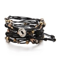 Chan Luu Beaded Cluster Wrap Bracelet | SHOPBOP | Use Code: EXTRA25 for 25% Off Sale Items
