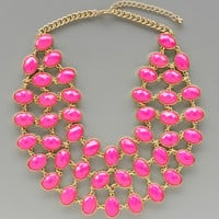 Hot Pink Jaipur Necklace