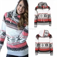 Women's Hoodie Christmas Sweater