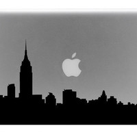 Toronto Skyline Mac decals Macbook sticker Macbook pro decal Macbook air decal Aappl decal sticker