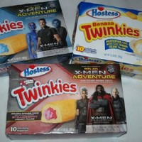 3 New Twinkies Flavors Banana, Strawberry and Blue Raspberry