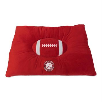 Alabama Crimson Tide Pet Pillow Bed