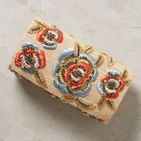 Mimi Clutch by Anthropologie in Neutral Size: One Size Clutches