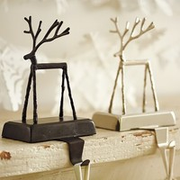 Twig Reindeer Stocking Holder