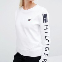 Tommy Hilfiger   Tommy Hilfiger Classic White Sweatshirt at ASOS