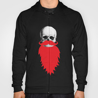 Beard Skull Hoody by Li9z