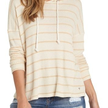 Billabong Lounge Around Stripe Hooded Top | Nordstrom