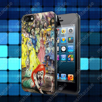 Disney Princess Zombie Case For iPhone 5, 5S, 5C, 4, 4S and Samsung Galaxy S3, S4