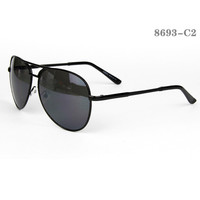 Aviator Style Men Sunglasses #8693-C2