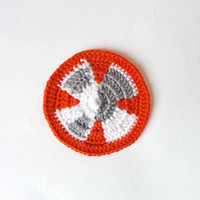 BB-8 Droid Applique 2 pcs Halloween / Cosplay / Baby Shower Gift