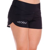 Women's Running Shorts in Little Black
