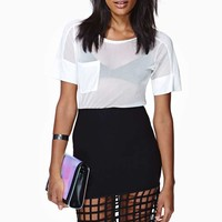 Nasty Gal Out Of The Cage Skirt