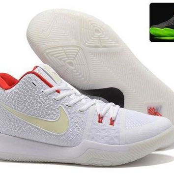 ESBONVX Jacklish Glow In The Dark Nike Kyrie 3 Yeezy' Man's Basketball Shoes For Sale
