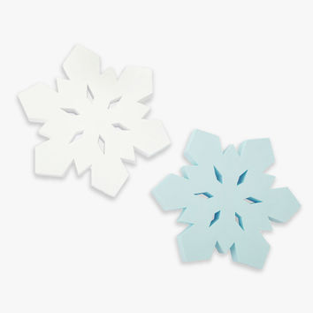 What a Flake! Snowflake Rubber Dog Toy