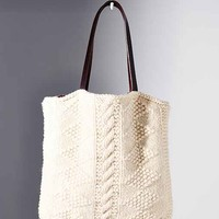 Canadian Sweater Company Tote Bag- Ivory One