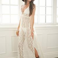 Crochet Maxi Cover-Up
