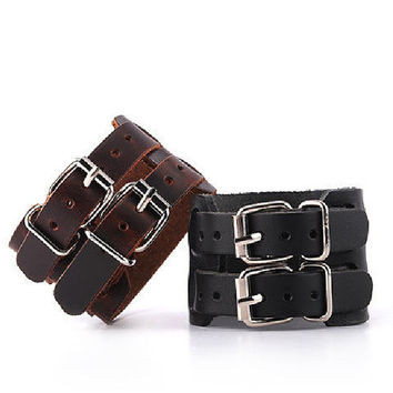 Leather Bracelet 10% off comes with a free wrist chain