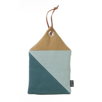 House Potholder - Blue