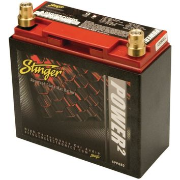 Stinger Spp Series 680-amp Lead-acid Battery With Metal Case