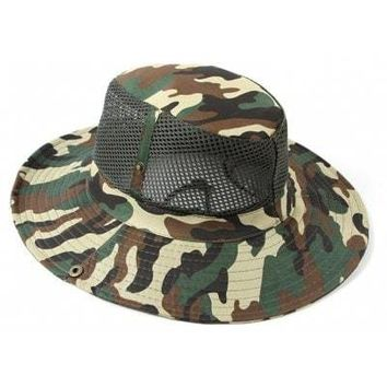 AOTU  Boonie Mesh Hat for Outdoor Camping