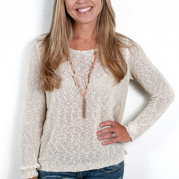 Bow Tie Bliss Sweater
