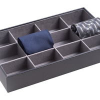 Wooden Open Valet Tray, Black, Other Jewelry & Storage Accessories